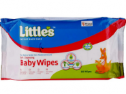 Half Price - Littles Soft Baby Wipes [ 480 Wipes ] At Rs. 1 Each