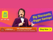 LAST 2 Days - Flipkart BSD With Upto 80% Off + 10% Bank Discount + FKM CB