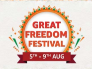 Amazon Great Freedom Festival - Up to 80% off on Top Categories + 10% SBI off