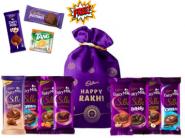 Rakhi Potli [ 5 Chocolates ] + Free Cadbury Samples At Rs.409