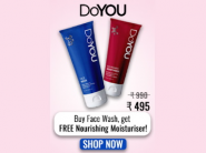 FREE Moisturiser With Face Wash + Rs. 200 FKM CB + Free Shipping