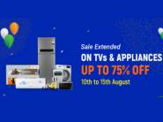 Flipkart Live Again - Up To 75% Off On TV
