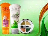 Lotus Herbals Range - Upto 31% Off + Rs. 300 FKM Cashback + Free Gifts