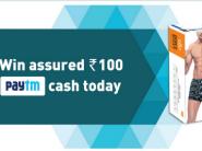PayTM Dixcy Scott Cashback Offer - Free Rs.100 Cash