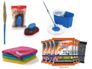 Cleaning Supplies Starting At Just Rs.109 + Upto 10.5% FKM CB