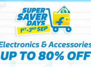 Electronics Gadgets - Up To 80% Off + Bank Off + FKM CB