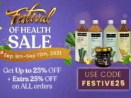 Kapiva Health Sale - Extra 25% Off Sitewide + Flat 50% FKM CB !!
