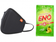 Outdoor Mask [ Pack of 5 ] + Eno [ Pack of 2 ] At Rs. 29 Each