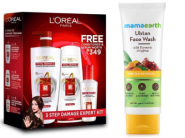 Mamaearth Face Wash + LOreal Paris Combo At Rs. 212 Each [ Free Conditioner + Serum ]