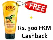 Lotus Is Back - Rs. 300 FKM CB + FREE Conditioner Worth Rs. 180 !!