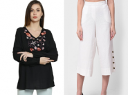 Best Selling - Floral Top + Straight Palazzo At Rs. 109 Each