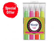 Mini Loot : Fevicryl 3d Neon Liners Kit At Just Rs.33 !!