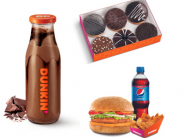 Pack of 6 Donuts + Chicken Meal + Choco Coffee At Rs. 163