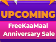 FreeKaaMaal Anniversary Sale - Increased Cashback On Best Stores