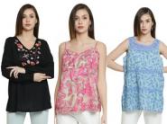 Flash Sale Offer - Tops At Just Rs. 158 [ Increased Rs. 300 FKM Cashback ]
