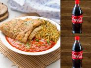 Lunch Offer - Order Egg Rice Bowl + 2 Coke At Rs. 42 Each