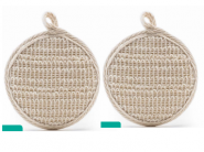 Must Buy - Natural Loofah [ Pack Of 2 ] At Just Rs. 49