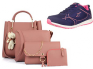 Steal Deal On Handbags & Footwear From Rs. 129