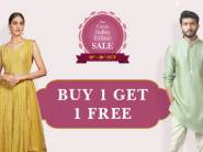 New Store On CB - Up To 90% Off on Ethnic Wear + Rs. 450 FKM Cashback