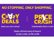 Flipkart Crazy Deals - Get New Deals Every 6 Hours This Big Shopping Days