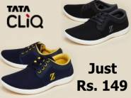 {All Sizes In Stock}:- Zudio Black Sneakers at Just Rs. 149 [Shipping Extra]