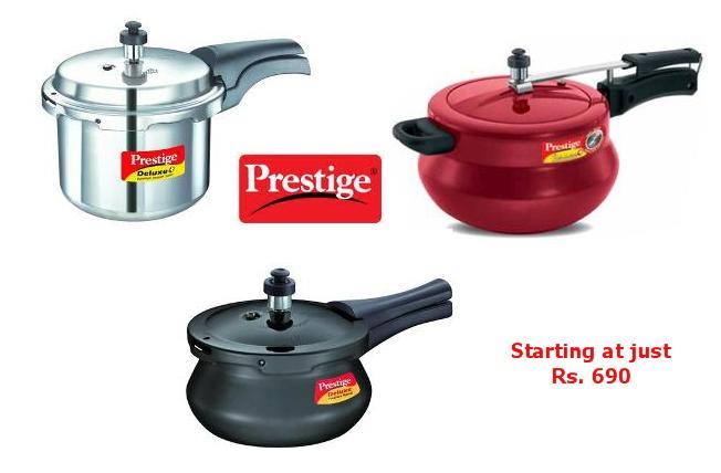 1e50f1fc6 ... Prestige Popular 3Lt Aluminium Pressure Cooker at Rs. 690.  Freekaamaal.com