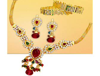 04f8735ac Red Fashion Jewellery From Surat Diamond at Rs. 299 at FreeKaaMaal.com