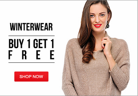29ec070a3 ... Yepme Winter wear Sale Buy 1 Get 1 Free + Extra 25% off on online  Payment. Freekaamaal.com