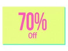 Minimum 70% off on Fashion and Lifestyle + 4% FKM Cashback