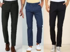Raymond, Peter England, Allen Solly Trousers From Rs. 584 + 4% FKM Cashback