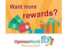 Free Amazon & Flipkart Gift Cards With Opinion World Survey !!