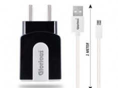 Fast Charging 2.4A Dual Port Charger with Cable At Rs. 149