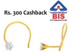 BIS Hallmark Gold 18kt + Diamond at Just Rs. 3295 [ 100% Certified ]