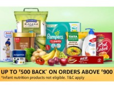 Buy More Save More on Amazon Pantry + Rs. 250 Amazon Pay Cashback