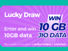 Jio Play and Win FREE 10GB Data [ Valid Till 31st Jan ]