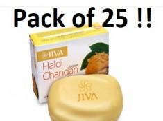GET NOW : Haldi Chandan Soap (25 Pcs) Rs. 12 Each + Free Shipping