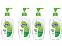 Lowest Online - Dettol Sanitizer 200ml [ Pack Of 4 ] At Rs. 69 Each