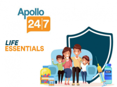 Apollo247 Live - Flat Rs. 150 FKM Cashback On Health Care Items [ Valid On Lab Test Also ]