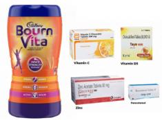 Yesterday's Bestseller - FREE Vitamins Kit + Bournvita Drink (500gm) At Rs. 70 !!