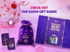 Cadbury Rakhi Gift Combos Under Rs. 300 With Free Shipping !! Hurry