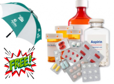 Flat Rs.150 FKM CB + 15% Off + Free Umbrella On Medicines !!