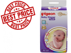 Lowest - Pigeon Baby Diaper Pants (36Pcs) At Rs. 6 Each