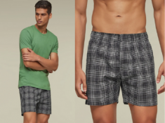 Grab Or Gone - Checkmate Boxers [ Pack of 3 ] At Rs.179 Each