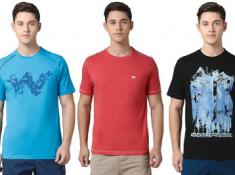Quality + Cheap : Wildcraft Tshirts Starts At Rs.350 + 20% FKM CB