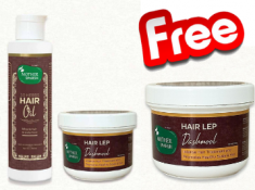 FREE Hair Lep + Complete Hair Care Duo At Just Rs. 678
