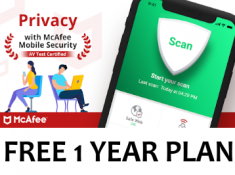 Protect Your Mobile With 1 Year FREE Antivirus + Rs. 101 Rewards