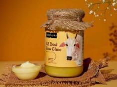 Best Buy - A2 Desi Cow Ghee 500gms AT Just Rs. 560 + FREE Amla Juice