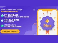 Pharmeasy Plus 3 Month Subscription At Just Rs.1 [ Free Dr. Consultation ]