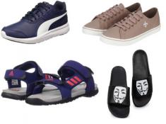Fab Feet Fest : Men's Footwear Starts At Just Rs. 235