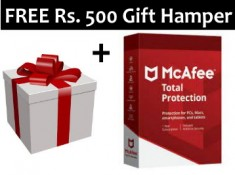 FREE 1 Year Mcafee Antivirus + Rs.500 Gifts From FKM